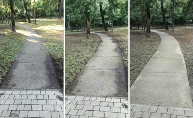Park u Žitištu ulepšavaju dvoje meštana dobre volje