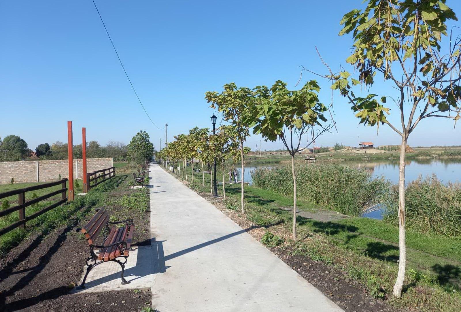 Nova pešačka staza na ribnjaku u Banatskom Karađorđevu (FOTO)