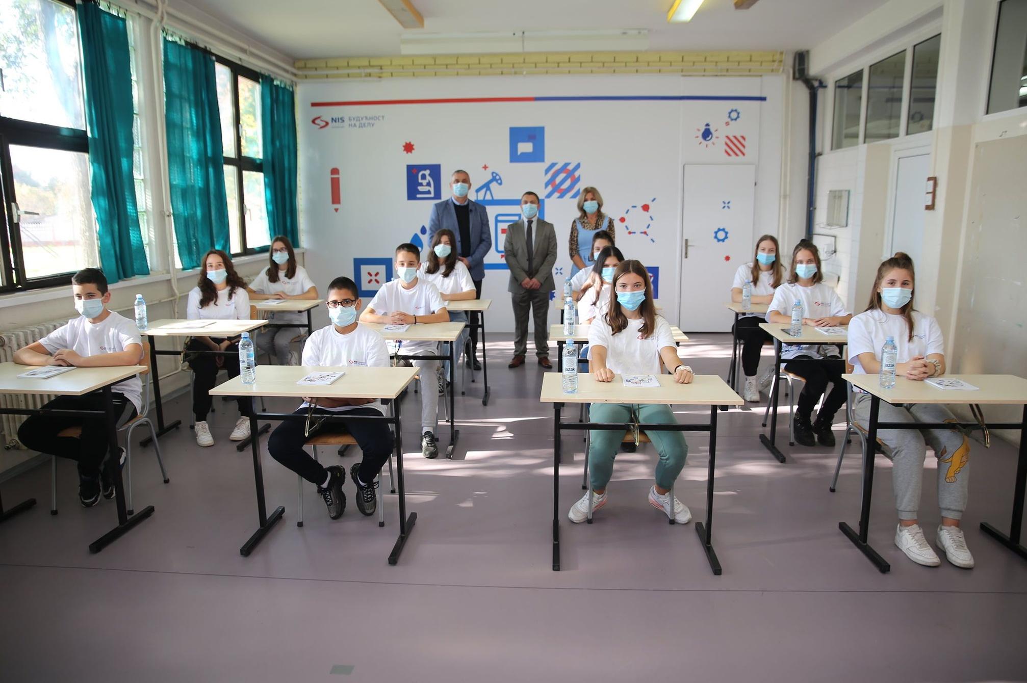 Osnovna škola ''Sveti Sava'' u Žitištu dobila informatičke kabinete