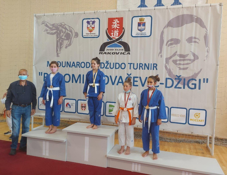 Lena Kovačević druga na Međunarodnom džudo turniru