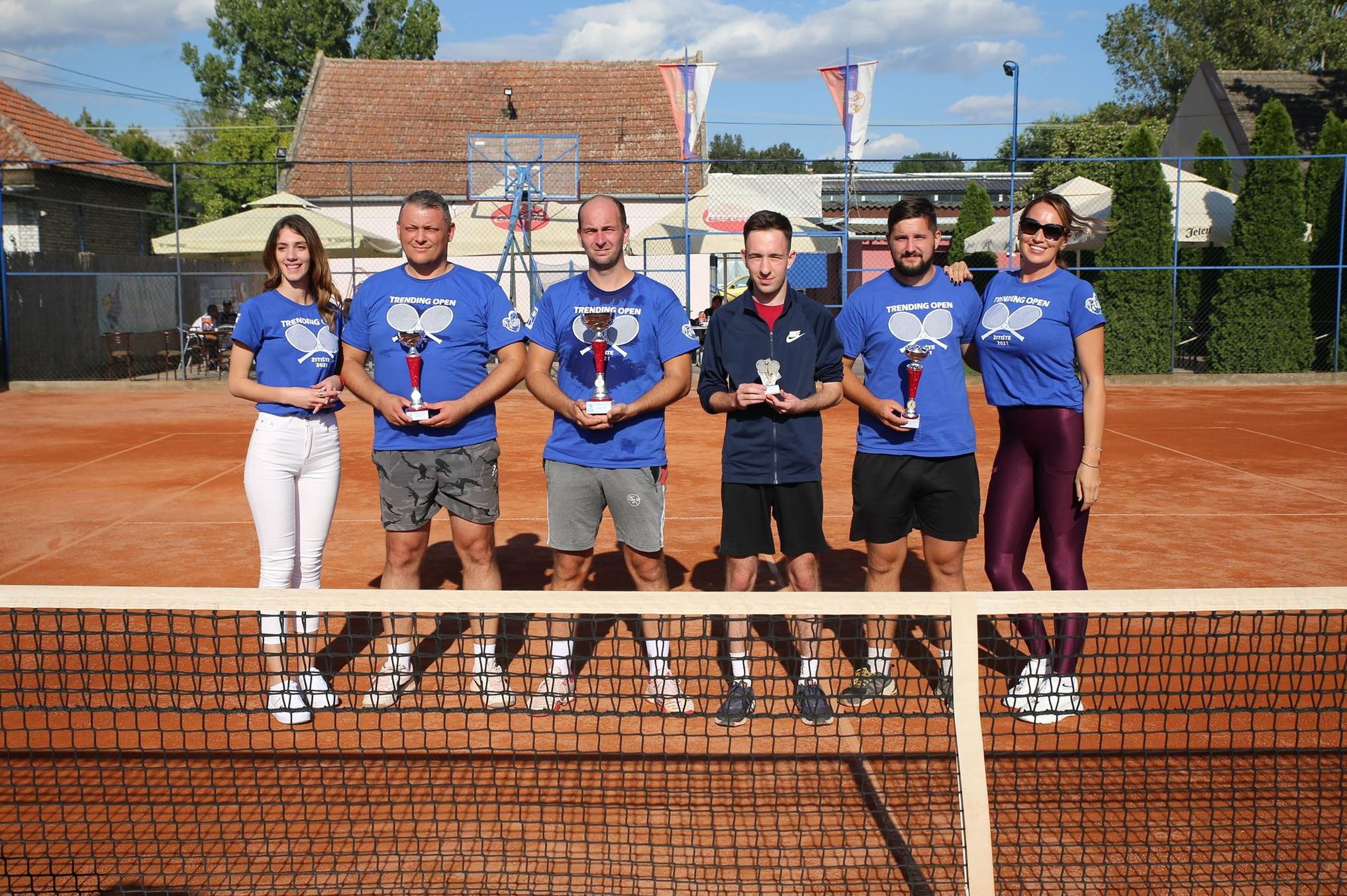 Robi Filep osvojio teniski turnir u Žitištu (FOTO)