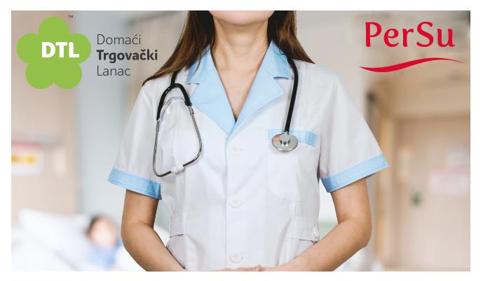 Donacija PerSu marketa i Domaćeg trgovačkog lanca