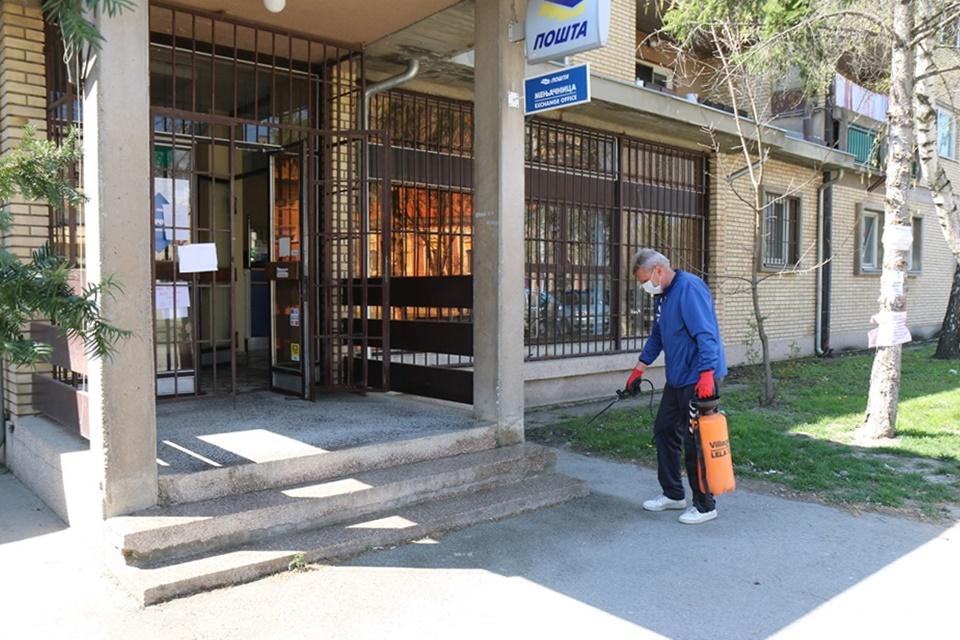 Dezinfekcija objekata pošta na teritoriji opštine Žitište